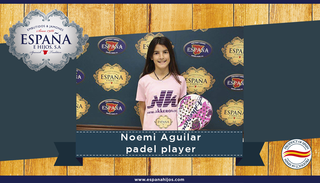 Noemi Aguilar, padel player
